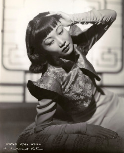 screengoddess:  Anna May Wong 1938