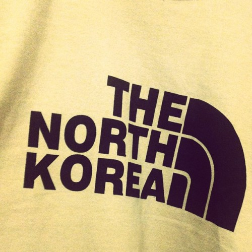 And the #winning #tshirt design for 2013 goes to… #northkorea #fashion #tokyo #japan