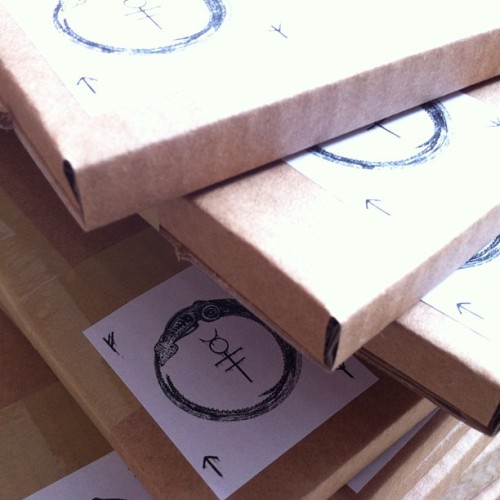 The Body preorders packed up. #thebody #doom #sludge #beards