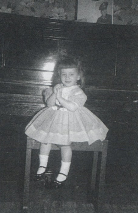 suicidewatch:  Lydia Lunch as a child.