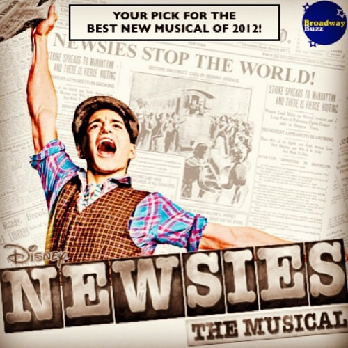 #Newsies #bestof2012