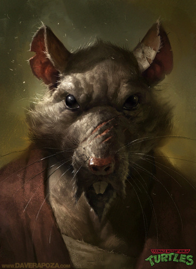 lulubonanza:  Splinter by *DavidRapozaArt