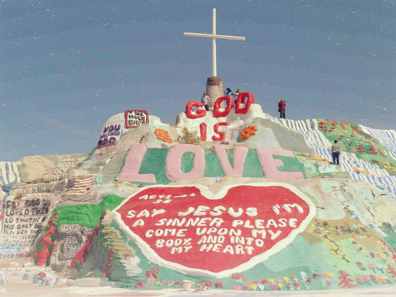 Salvation Mountain. California.