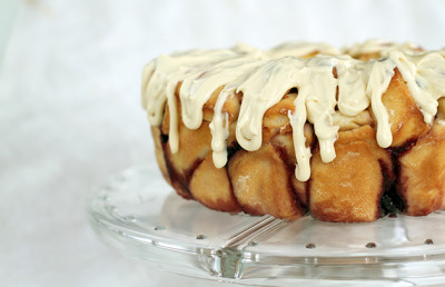 Cherry Cheesecake Pull-Apart Loaf