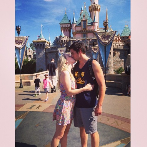 Literally the happiest girl on earth. ❤  (at Sleeping Beauty Castle)