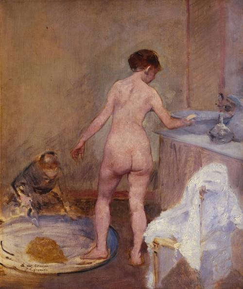 Jean-Louis ForainThe Tub1886-7oil painting