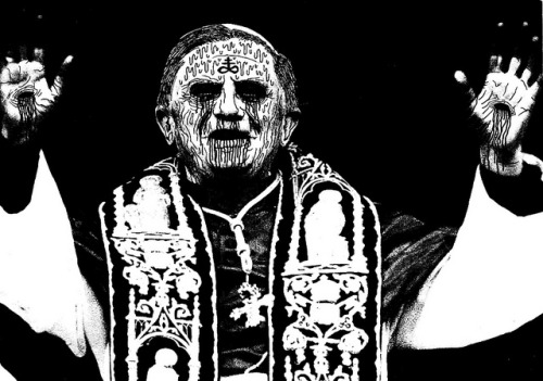 Joseph Aloisius Ratzinger on Flickr. Breaking news. King of the Paedophiles to resign.