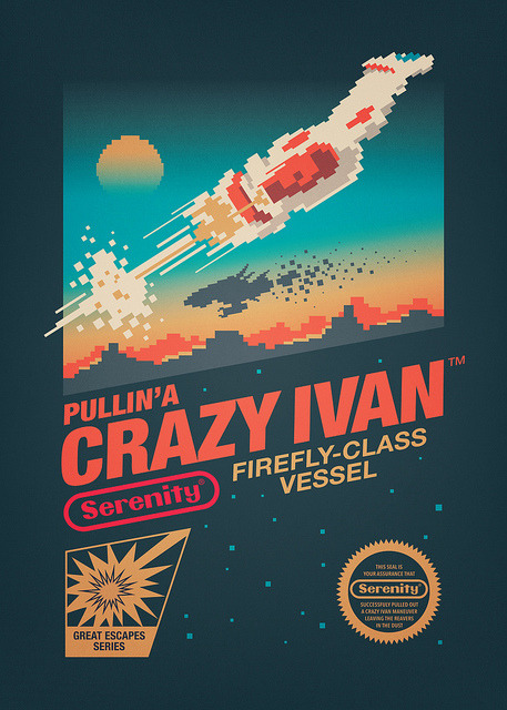 How would you feel about pullin'a Crazy Ivan? Available now on Society6 and Redbubble :)