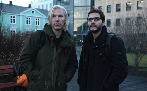 "ATTN: TUMBLR! Here's what Benedict Cumberbatch looks like as Julian Assange in ""The Fifth Estate."""