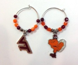 This is for you VT fans! Better grab these cute earrings at our Carytown store before another fan beats you to it!