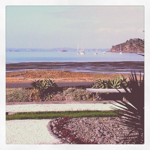 Breakfast view at Breakfast on the Beach on Waiheke Island with @llodes / on Instagram http://instagr.am/p/WctUv6MHBx/