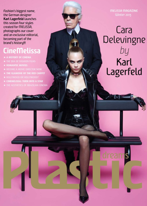 Who's the better cover star: Karl or Cara?