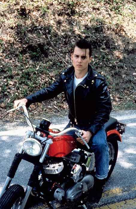 nearlyvintage:  CRY-BABY, Johnny Depp,   Ah!