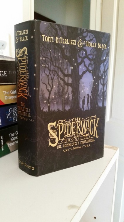 the spiderwick chronicles holly black tony diterlizzi the completely fantastical edition books reading childhood