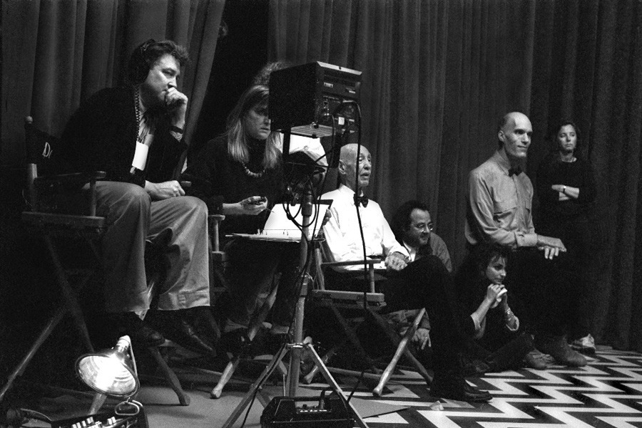 blue-voids:  On the set of Twin Peaks
