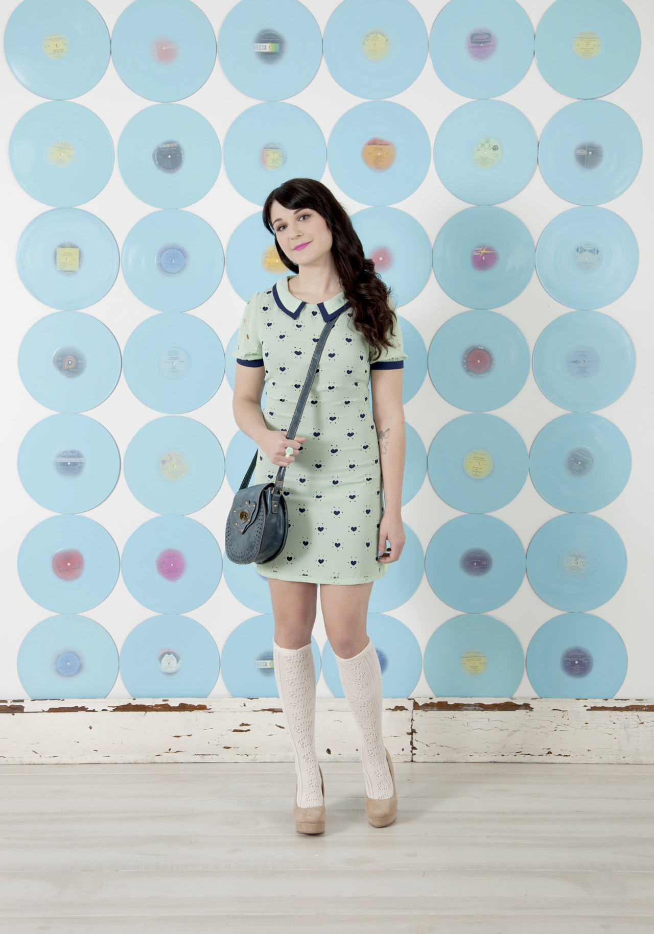modcloth:  The Piece of Your Heart Dress would be so adorable for a Valentine's Day date look! Though it will likely be too cold in Pittsburgh for me to wear mine as I did here, I think it would still be lovely with opaque tights and a cardigan. :)  <3 Jess, ModStylist Need styling suggestions, trend tips, or dress details? Ask a ModStylist and your question might be featured on our feed!