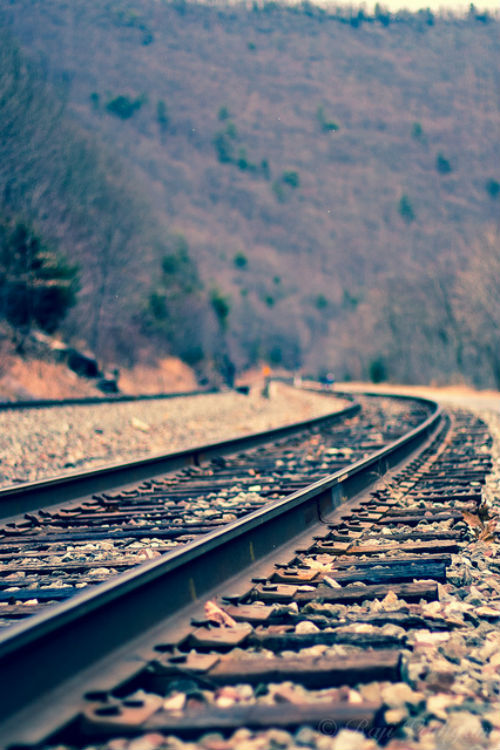 1wantchange:  Railway Tracks at Jim Thorpe