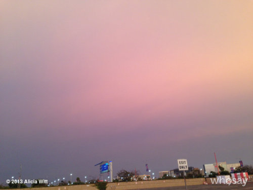 Weird tornado-ish looking skies at LAX an hour agoView more Alicia Witt on WhoSay