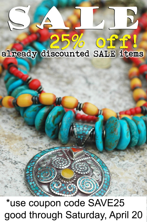 25% OFF SALE on already discounted SALE jewelry Click here to start shopping!