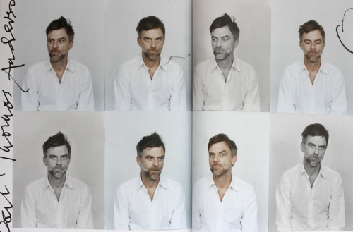 The many faces of Paul Thomas Anderson inside Port Magazine's Film Issue.