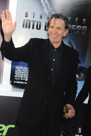 zukoe:  Leonard Nimoy arrives at the premiere of Star Trek Into Darkness held at the Dolby Theater in Hollywood.