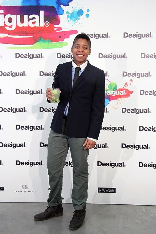 :: #QueerBOIS Submission:: at the Desigual fashion show! Christina, 20