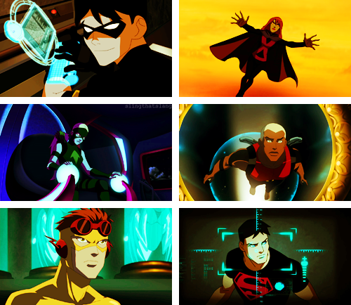 Screencap Meme — Tickles My Pickle: Young Justice Original Team (requested by anon)