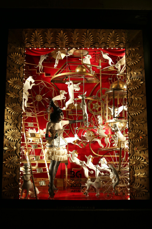Bergdorf Goodman Holiday Windows. 2012