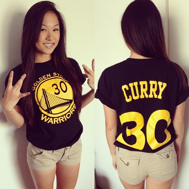 fishtran:  Always reppin' that #GSW 💙💛 #Curry #30 #BeatDenver
