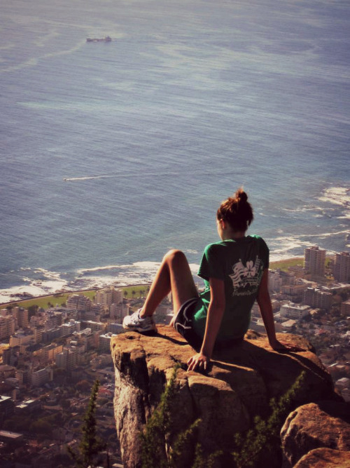 I just want to go back. Now. Cape Town, South Africa Lion's Head