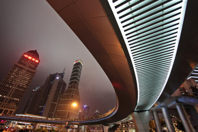 minemice:  Shanghai shows off its curves [Explore #1 - 02/19/13] by DMac 5D Mark II on Flickr.