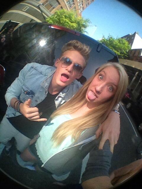 Cody Simpson - @CodySimpson you were in a really good mood and I love you so much