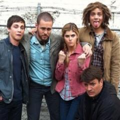 imnothidingimhanging:  The cast of Percy Jackson and The Lightning Thief & Percy Jackson Sea of Monsters being adorable.