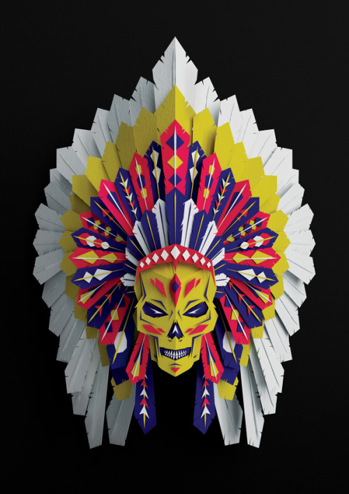 visualgraphic:  Native American Headdress
