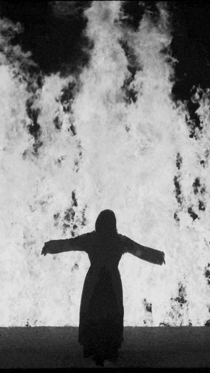 headless-horse:  Fire Woman (video installation) - Bill Viola, 2005  On fire?