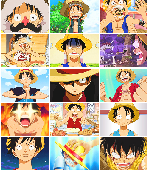 Happy Birthday to our future Pirate King, Monkey D. Luffy!