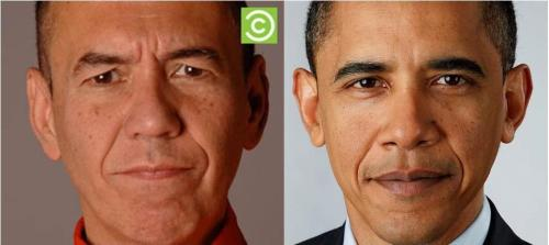 Gilbert Gottfried and President Obama separated at birth?