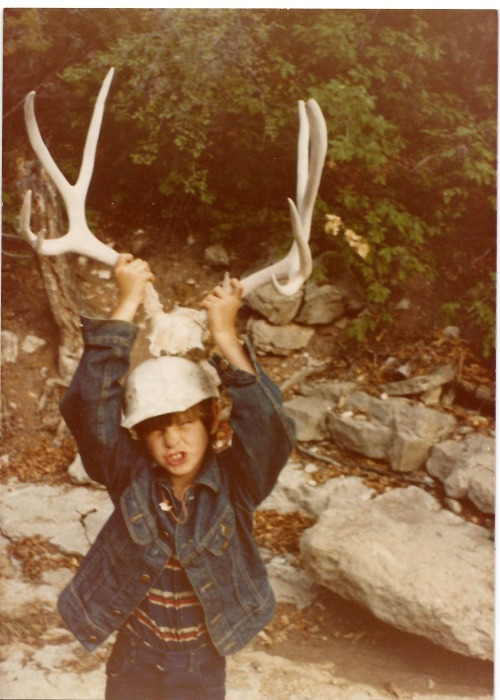 Looks like my ma found a much better scan of this pic… raise the horns!!!! (1978, Pecos Mountains, New Mexico)