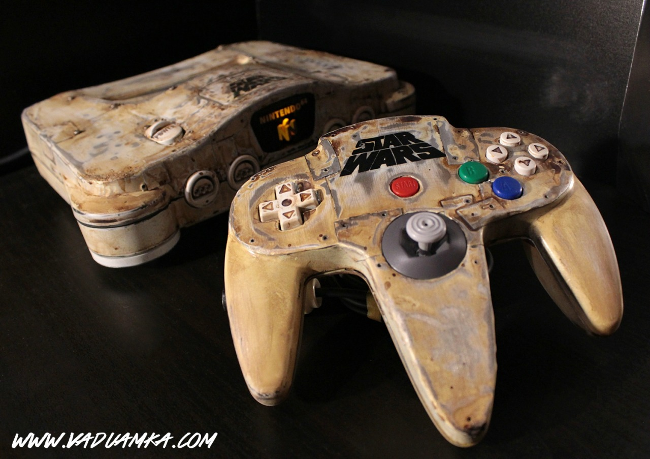 Custom N64: The Wreck of the Desert - Created by Vadu Amka