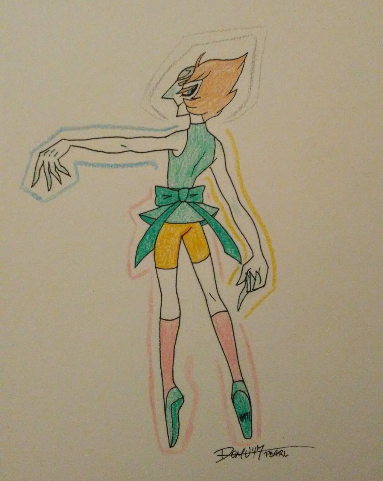 merry christmas, here's a less human looking pearl. no refunds or exchanges