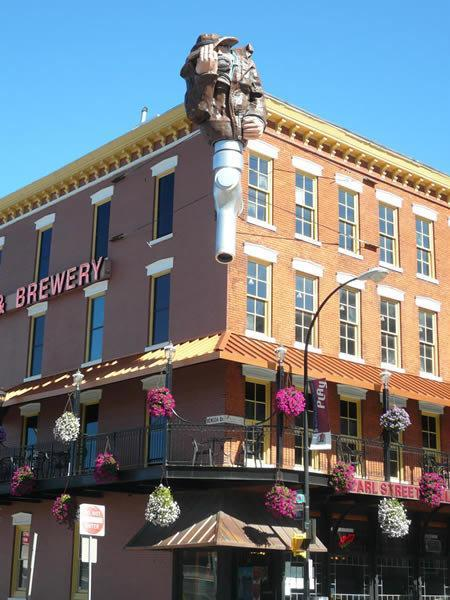 Revitalization: World's Largest Brew Pub in Buffalo Before the 1920's prohibition era Buffalo was an American brewing destination. Now, Pearl Street Grill & Brewery is claiming to be the largest Brew Pub in the world. All 5 stories of the downtown staple are now open, including the basement housing Brawler's Back Alley Deli. Earl Ketry, the owner of Pearl Street, has obtained 5 properties for business, which was enough to be recognized as an entire district by the city - the Buffalo Brewery District. The international destination includes the Hotel Lafayette and the newly established brewery at the Pan-American Grill & Brewery; the new boutique hotel, The Lofts on Pearl;  the musical magnate Sportsmen's Tavern; the freshly acquired future brewery, Erie Freight House; and the Pearl Street Grill & Brewery which decorated itself in $10,000 worth of flowers last year.I mean, who doesn't like Pearl Street? I had no idea it was that big, however. Very nice to see Buffalo doing work- it starts with the beer, folks; always with the beer!