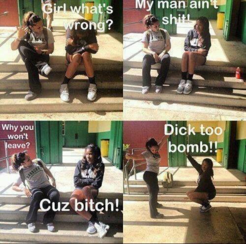 Dick too bom