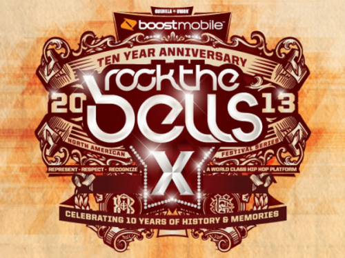 Rock The Bells 2013 Lineup Shoreline Sep 14-15  Bone Thugs N Harmony Common E-40 & Too Short Kid Cudi  Rakim Talib Kweli Tyler The Creator Wu-Tang Clan & more  http://www.rockthebells.net