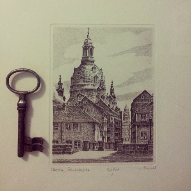 Love my print and key from Germany. Thanks soma!