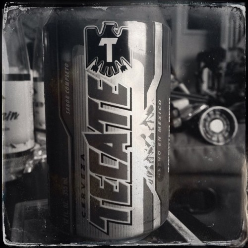 All Day Today! #noirstagram #beer #tecate #cincodemayo
