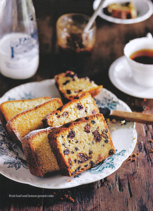 fruit loaf + lemon pound cake | donna hay