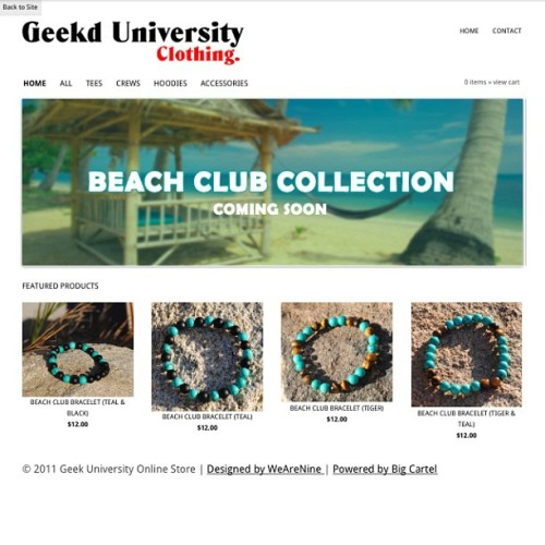 Accessories now available in the online store. #geekd #geekdlife #beachclub #shop #karmaloop #streetwear #quality #style #bracelet #handmade #phx #highend #tiger #beads