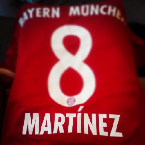 Newest shirt. Mad love for Javi Martinez!!
