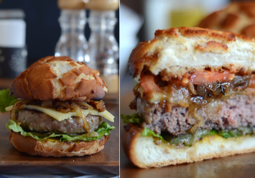 'dutch crunch' burger.