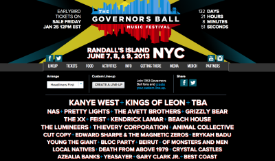 This is real life, folks. So unbelievably excited for my first-ever music festival, and as most of the Internet has been noting for the past week, this lineup is bonkers-good. What's more, I get to dance and get debaucherous with one of my nearest and dearest. Couldn't think of a better way to kick off summer 2013.